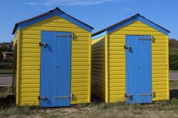 Beach huts, Littlehampton
