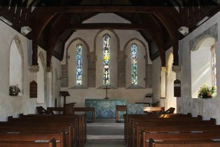 Chancel, St. Nicholas Church, Itchenor