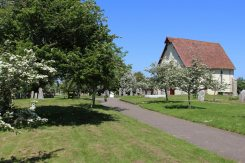 Churchyard and St. Wilfrid's Chapel, Church Norton