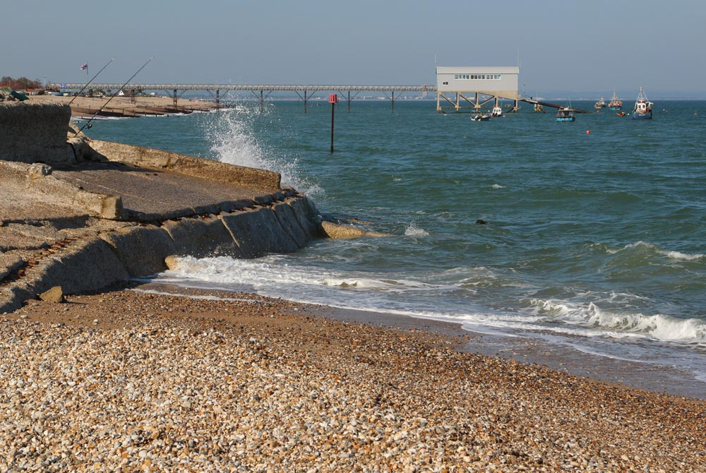 Lifeboat Station and sea defences, Selsey Bill