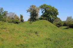 Remains of a Norman Castle, Church Norton