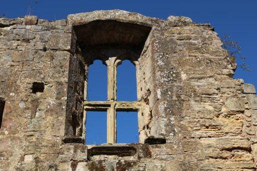 Castle window, Bodiam Castle