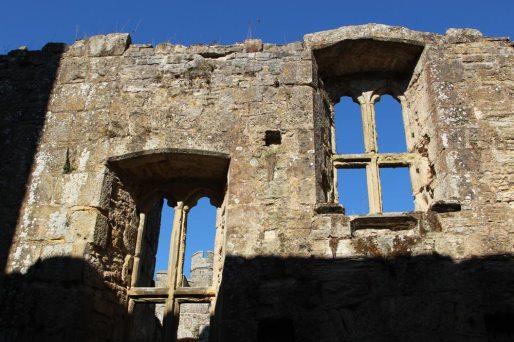 Castle windows, Bodiam Castle