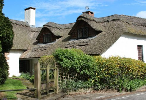 Thatched cottage, Dart Bridge, Bickleigh