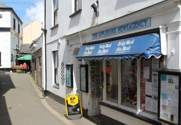 The Appledore Newsagency, Market Street, Appledore