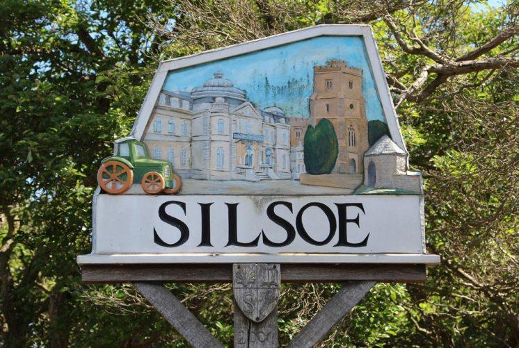 Village sign, Silsoe