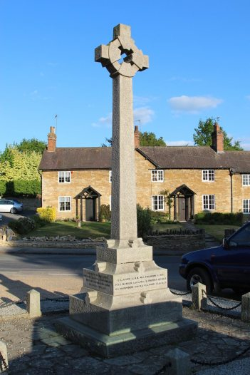 War Memorial, Turvey