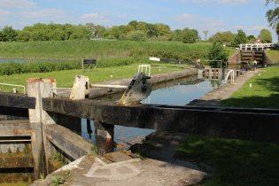 Caen Hill Flight Lock, The Skaggs Foundation Lock 39, Kennet and Avon Canal, Devizes