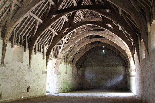 Interior, Tithe Barn, Barton Farm Country Park, Bradford on Avon