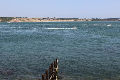 Needles Passage, from Hurst Castle, Milford-on-Sea