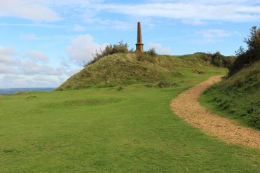 Path to War Memorial, Ham Hill Country Park