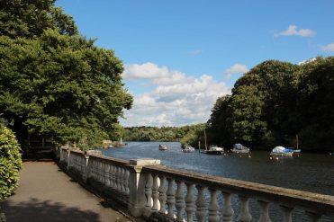 River Thames, from York House Gardens, Twickenham