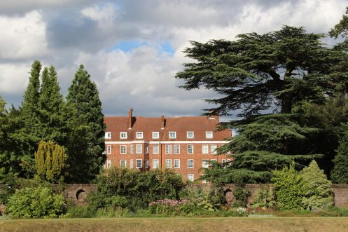 Sion Court, from York House Gardens, Twickenham