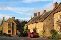 The Chantry and cottages, South Street, Montacute