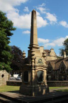 War Memorial, Westbury Gardens, Bradford on Avon