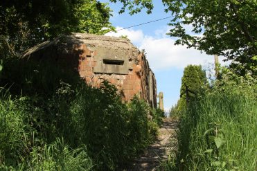 WWII Pillbox, Kennet and Avon Canal, Devizes