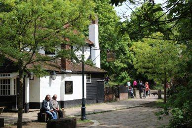 Ye Olde Fighting Cocks pub, St. Albans