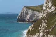 Bat's Head, from cliffs above Durdle Door