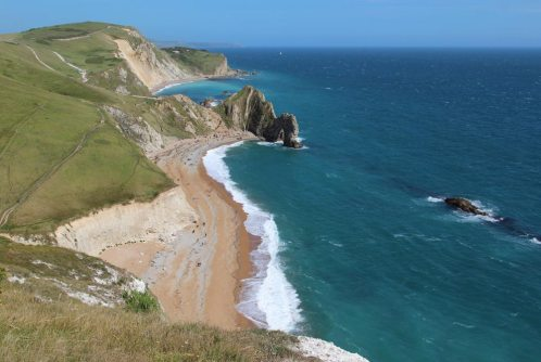 Durdle Door and St. Oswald's Bay, from Swyre Head