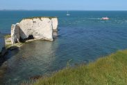 Poole Bay and The Foreland or Handfast Point, Old Harry Rocks, Studland
