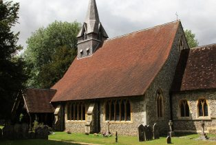 St. Peter and Holy Cross Church, Wherwell