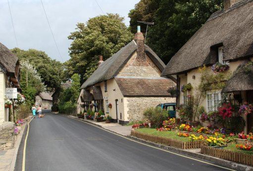 Thatched cottages, Main Road, West Lulworth