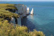 The Pinnacles, from Ballard Down, Old Harry Rocks, Studland