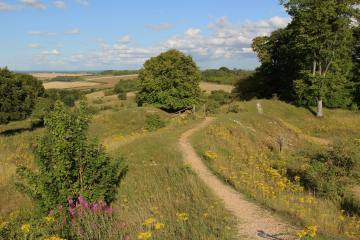 East Gate, Danebury Hill Fort