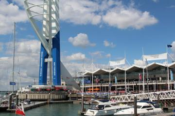 Emirates Spinnaker Tower and Waterfront, Gunwharf Quays, Portsmouth