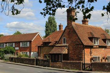 The Old Post Office and Mission Cottage, Compton