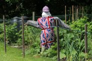 HM the Queen Diamond Jubilee 2012 celebrations, scarecrow, Shere