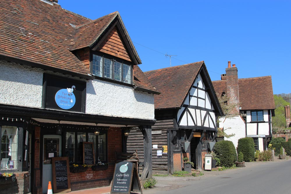 The Dabbling Duck and The Old Forge, Shere