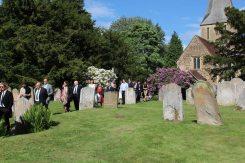 Wedding, St. James' Church, Shere