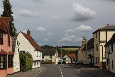 Cottages, High Street, Littlebury