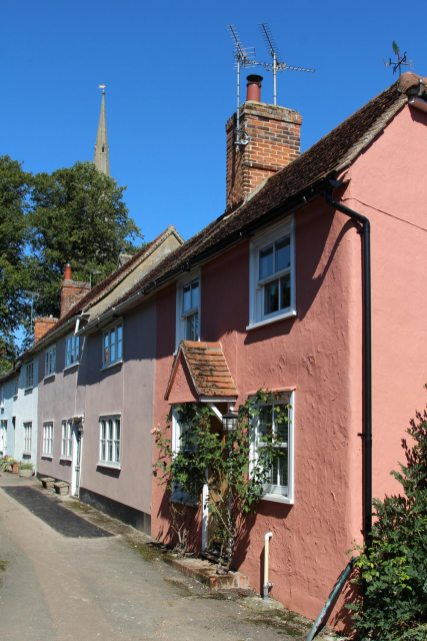 Cottages, Mill Row, Thaxted