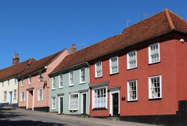 Cottages, Watling Street, Thaxted