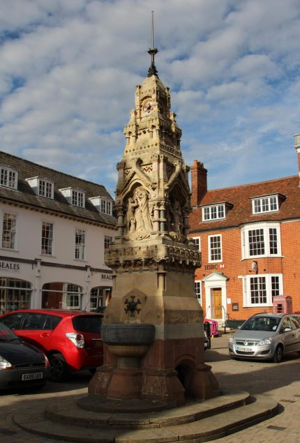 Drinking fountain, Market Place, Saffron Walden