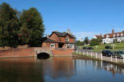 Duck pond, Finchingfield