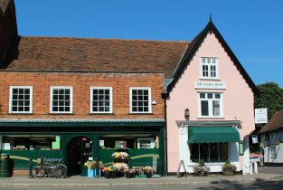 East of England Co-op Food Store and The Essex Rose Tea House, Dedham