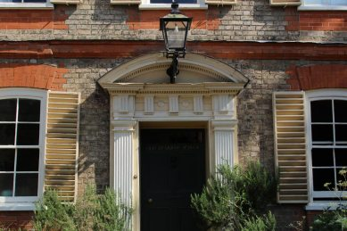 Old Grammar School, where John Constable went to school, Dedham