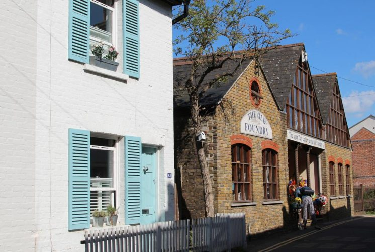 The Lynn Tait Gallery at the Old Foundry, Old Leigh, Leigh-on-Sea
