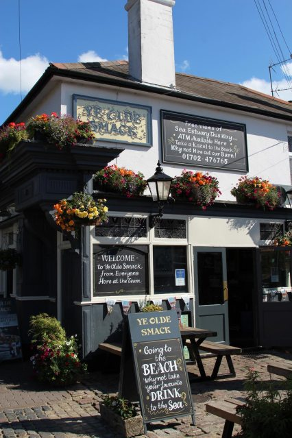 Ye Olde Smack pub, Old Leigh, Leigh-on-Sea