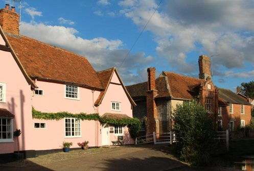 Bridge House and Ye Olde River House, Kersey