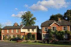 Houses, The Green, Cavendish