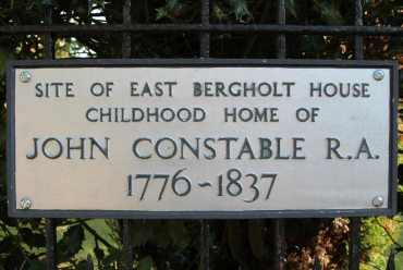 Site of John Constable's birthplace and childhood home, East Bergholt