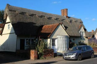 Thatched cottage, High Street, Cavendish
