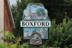 Village sign, Boxford