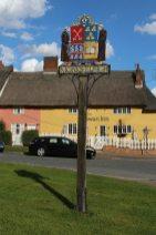 Village sign, Monks Eleigh