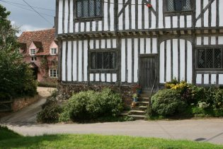 St. Mary's Cottage and the Old Guildhall, Stoke-by-Nayland