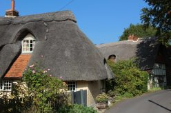 Thatched cottages, Chapel Lane, Blewbury